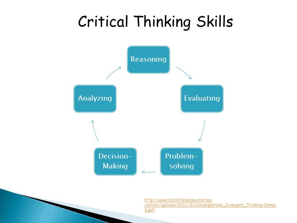 pdf critical thinking skills