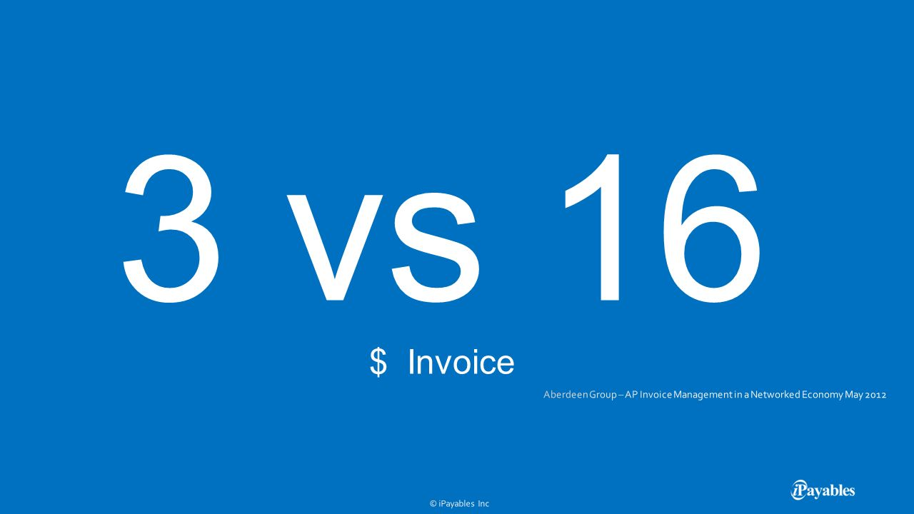 3 vs 16 $ Invoice
