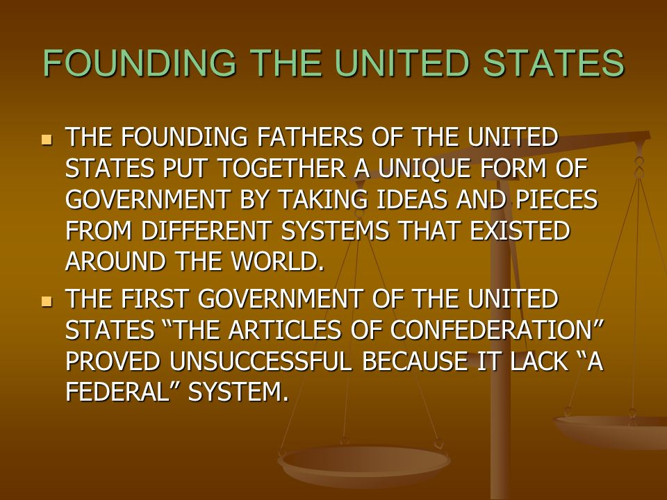 THE FOUNDING INDIAN FATHERS. EUROPEANS COME TO AMERICA WHEN ...
