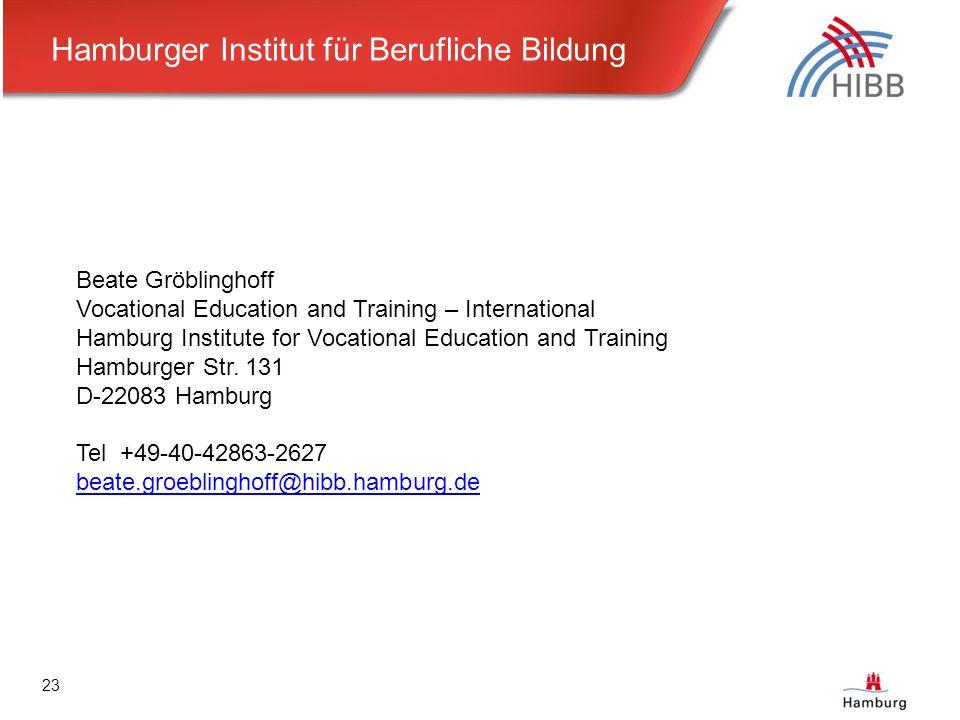 training hamburg datenbank