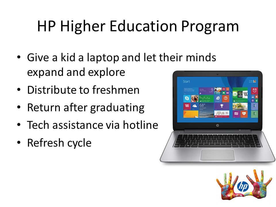 director of higher education hp