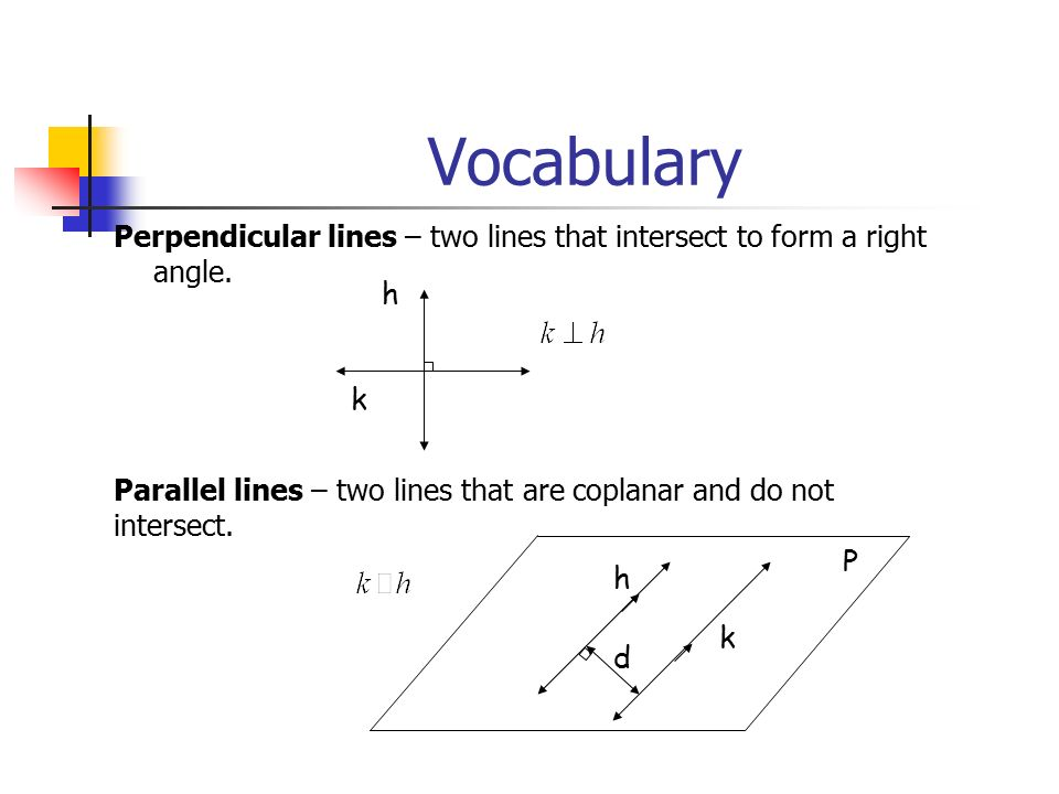 Chapter 3 Perpendicular & Parallel Lines Sec. 3.1 Lines and Angles ...