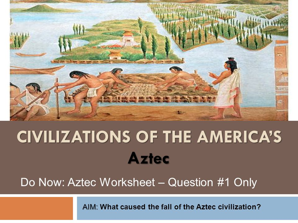 a discussion of the chronicles of the aztec empire The aztec empire, is designed to provide ideas, activities, and resources discussion questions • after reading the poem, describe its meaning in your own words.