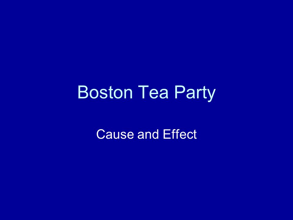 Outline for the boston tea party. help!!?