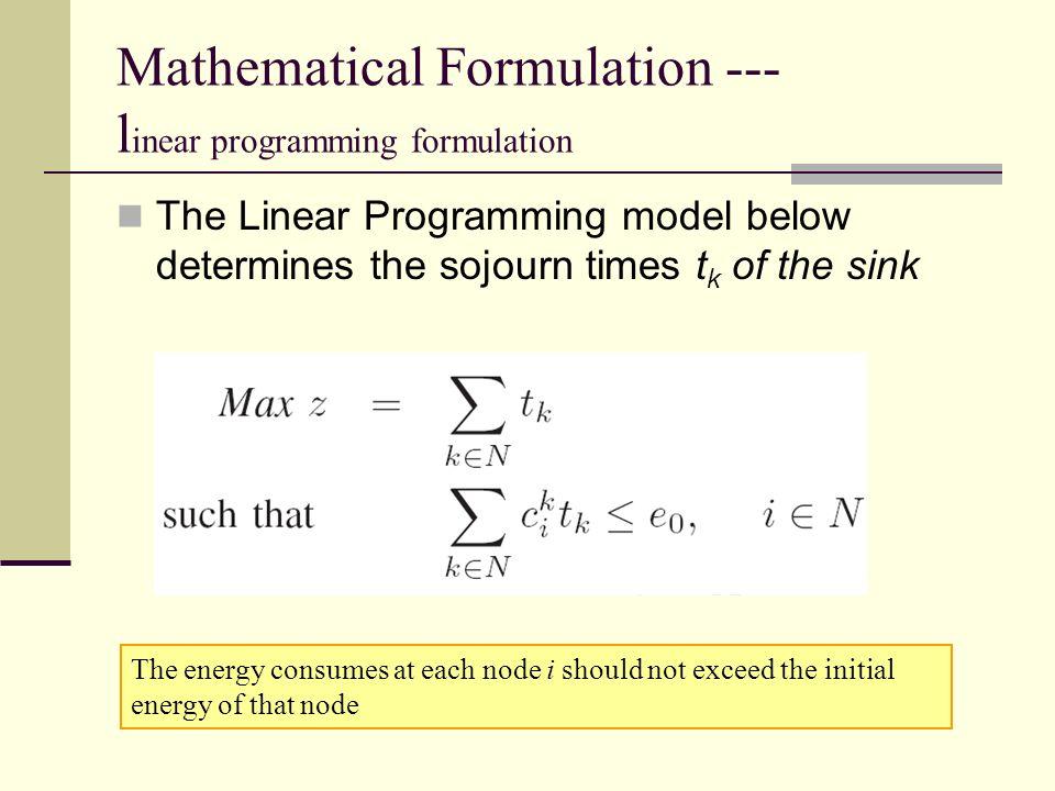 case studies on formulation of linear programming models Formulation of linear programming problem (lpp): formulation of a linear programming management case studies formulation of linear programming.