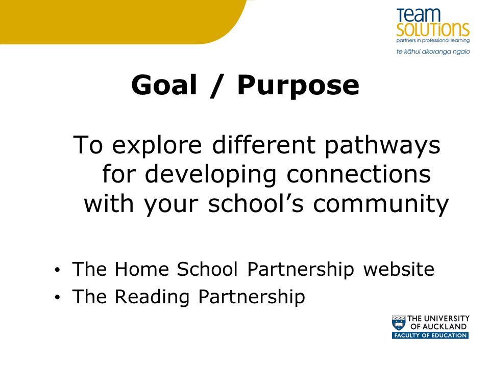 Home school partnership projects