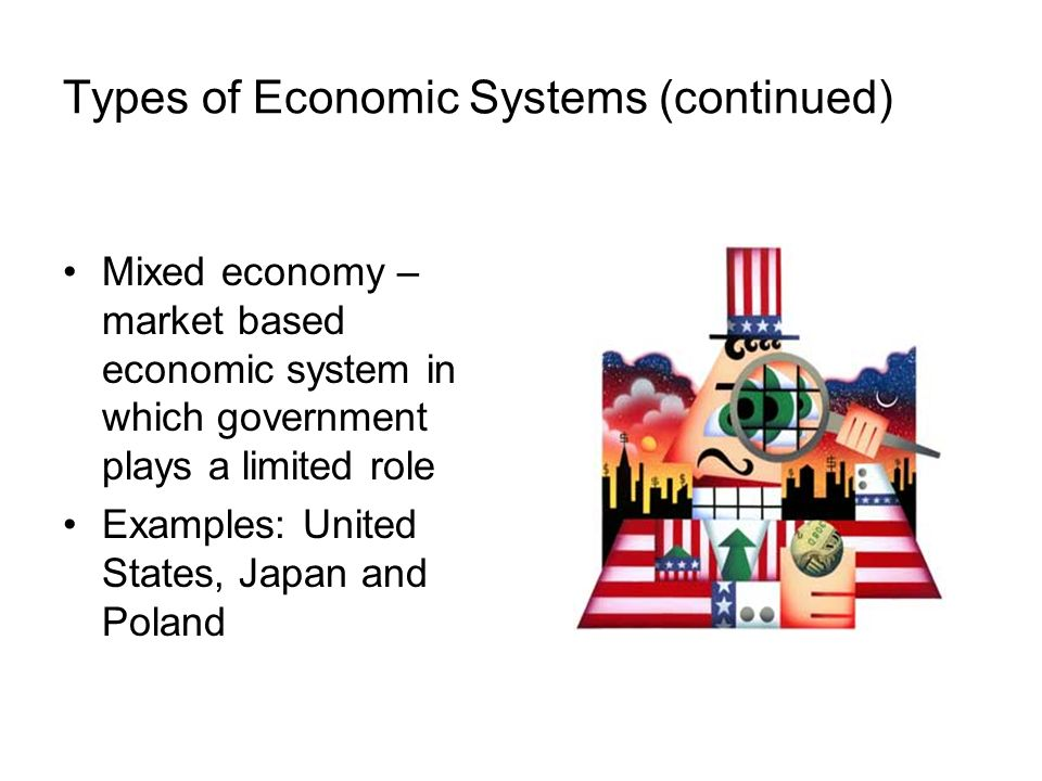 role of government in mixed economies such Because the government plays a prominent role in all economies, all capitalistic economies are considered mixed economies, combining some features of a command economy with a market economy the redistribution of some wealth is necessary, because even in a capitalist economy, some people gain tremendous wealth, then use it to influence.