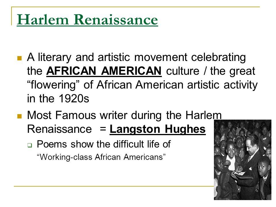 harlem renaissance movement of the 1920s