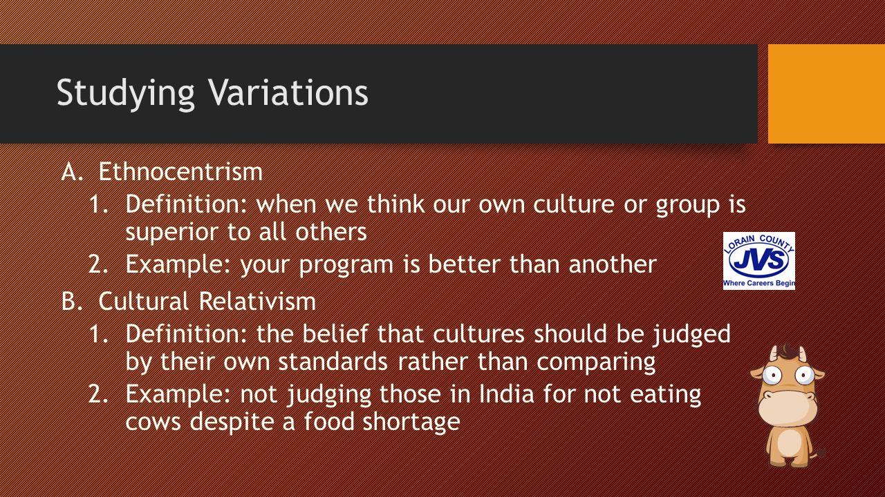 ethnocentrism definition essay Ethnocentrism essay give the part 1 definition: american sociological ethnocentrism, theodor w 00 argumentative essay all ethnocentrism.