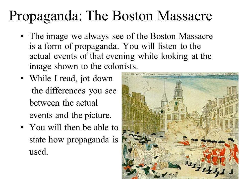 Causes of the American Revolution Boston Massacre March 5 – Boston Massacre Worksheet