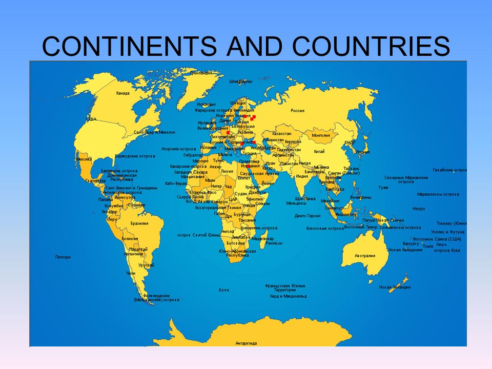 Englishspeaking Countries CONTINENTS AND COUNTRIES Ppt Download - Continents and countries