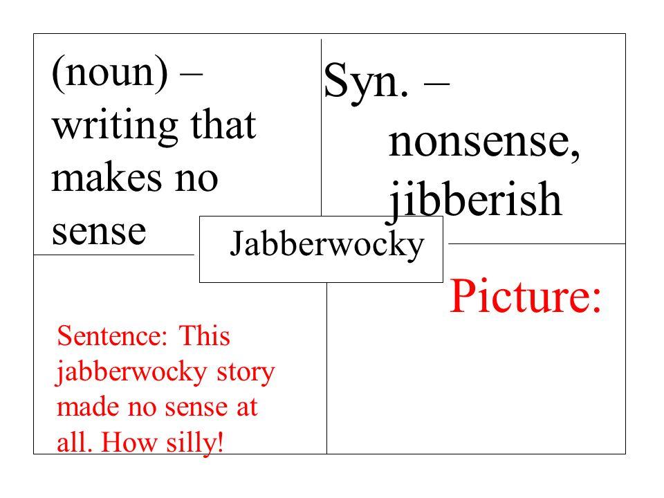 Ungewöhnlich Jabberwocky Rahmen Zeitgenössisch - Benutzerdefinierte ...
