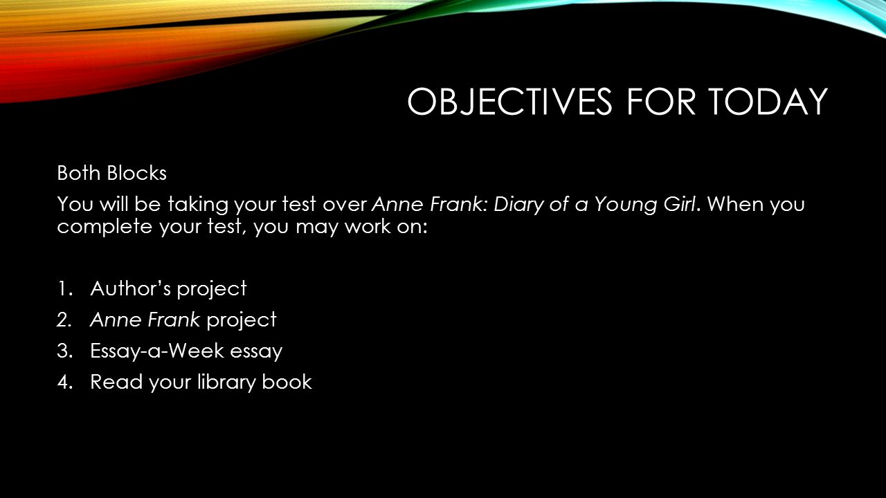 compare and contrast essay on the diary of anne frank Anne's father lived on for many years and made sure that anne's diary was now to read essay anne frank and other diary of anne frank is about a girl that.