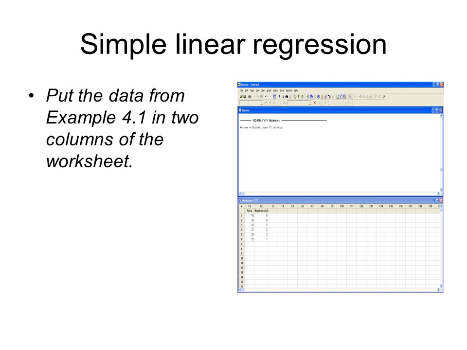 Chapter 4 Minitab Recipe Cards. Correlation coefficients Enter the ...