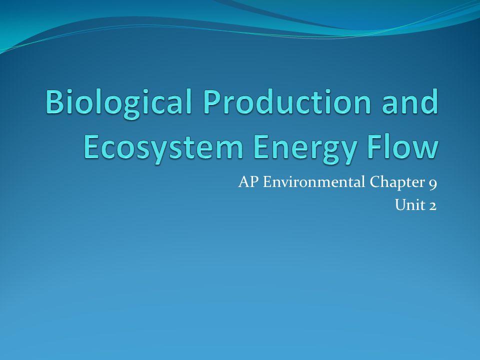 AP Environmental Chapter 9 Unit 2