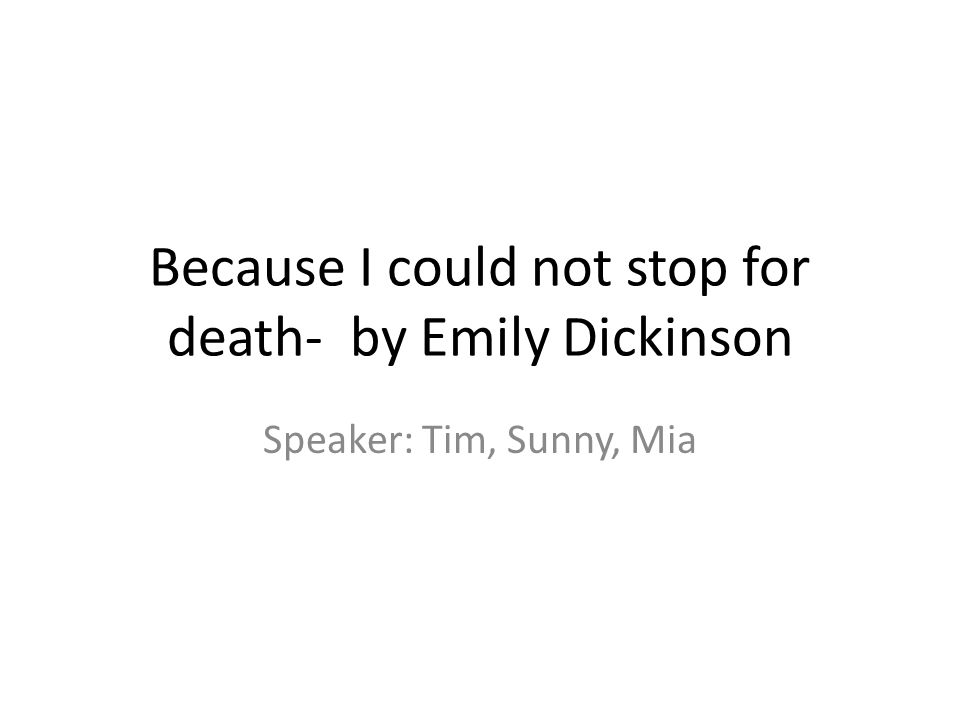emily dickinson ppt