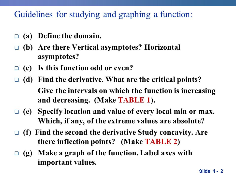 35 graphing functions slide guidelines for studying and graphing 2 slide ccuart Images