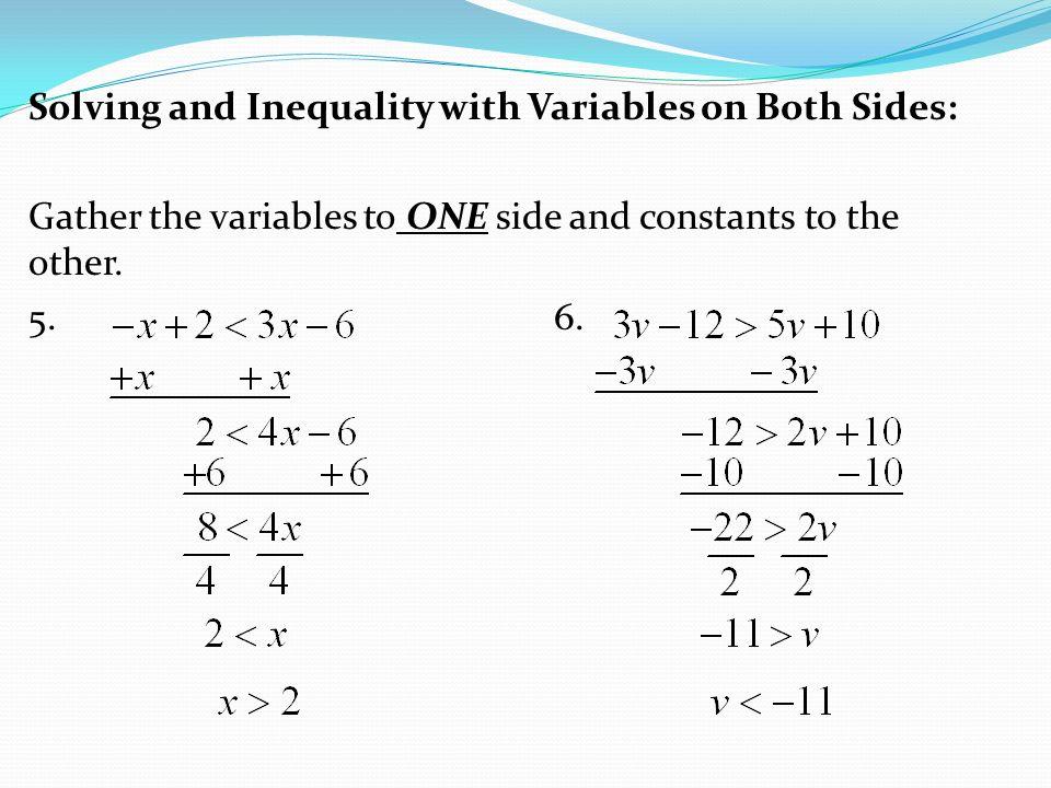 Multi Step Equations Worksheet Variables On Both Sides No Negative – Multi Step Inequalities Worksheet
