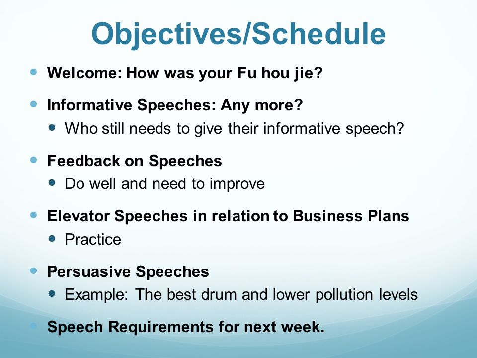 Welcome To Speaking Effectively Business Speech And Presentation