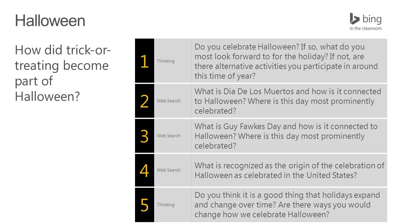 Thinking Do You Celebrate Halloween If So What Do You Most Look