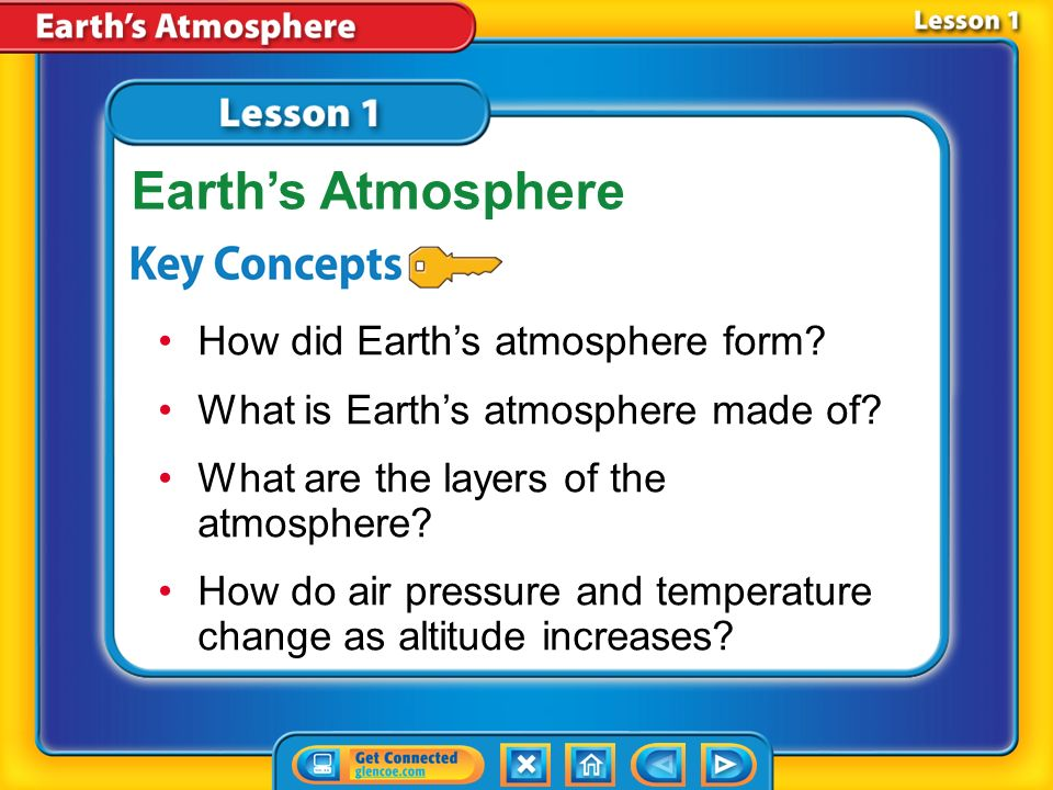Chapter Menu Chapter Introduction Lesson 1Lesson 1Earth's ...