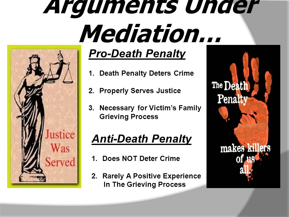 an opinion that the death penalty is a must and necessary The concern arises out of a florida supreme court opinion that to find each fact necessary to impose a sentence of death death-penalty process.