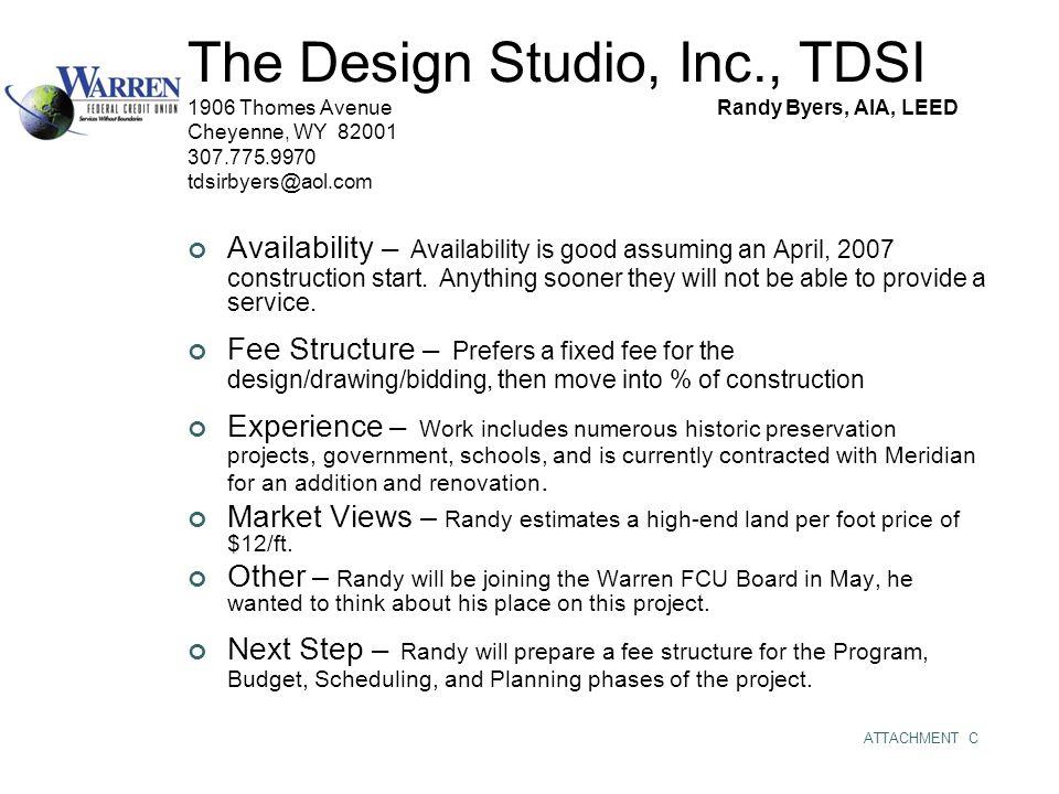 The Design Studio, Inc., TDSI 1906 Thomes AvenueRandy Byers, AIA, LEED
