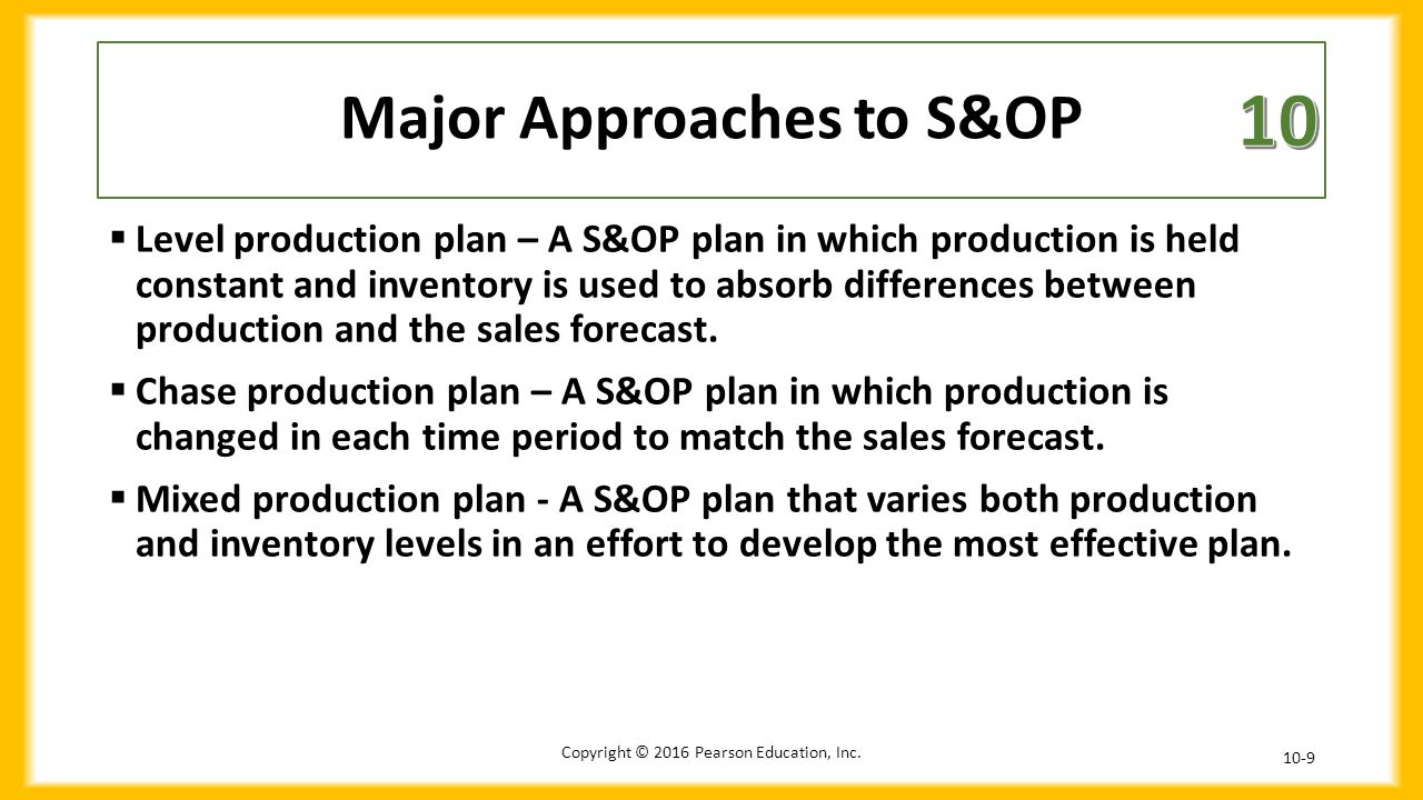 what are the major differences between aggregate planning in manufacturing and aggregate planning in Planning demand and supply in a supply chain aggregate planning: general plan » consider all the demand and production of a given month together.