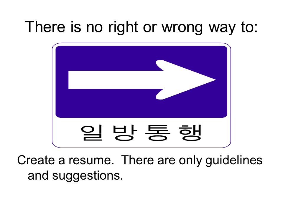 right or wrong which way is