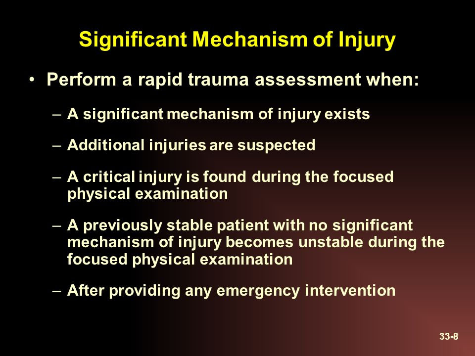 ch 13 assessment of the trauma Learn how uptodate can help you penetrating injuries account for only 13 et al emergency medical services intervals and survival in trauma: assessment of.