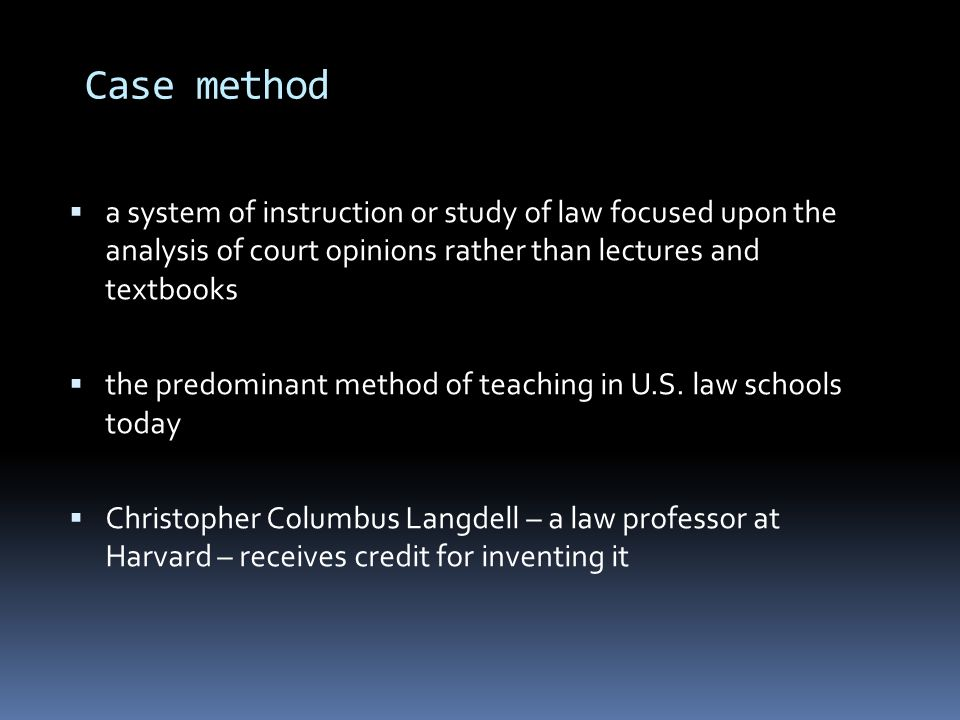 harvard case study teaching method © 2018 harvard business school publishing all rights reserved harvard business publishing is an affiliate of harvard business school.