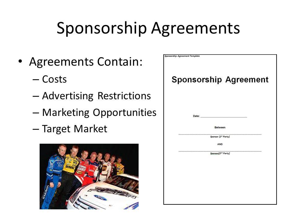 SEM PI – Explain the nature of sponsorship in the sports/event ...