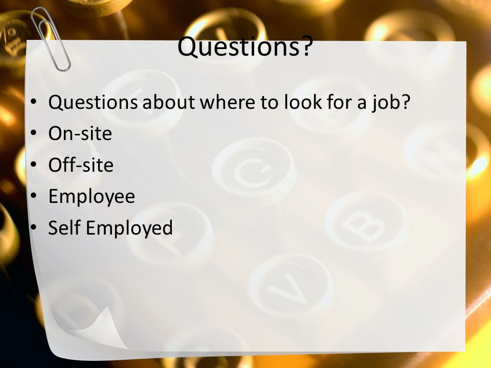 4 Questions MR290 Unit 5 Intermediate Entry Level
