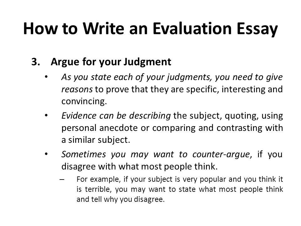 anecdote examples in essay