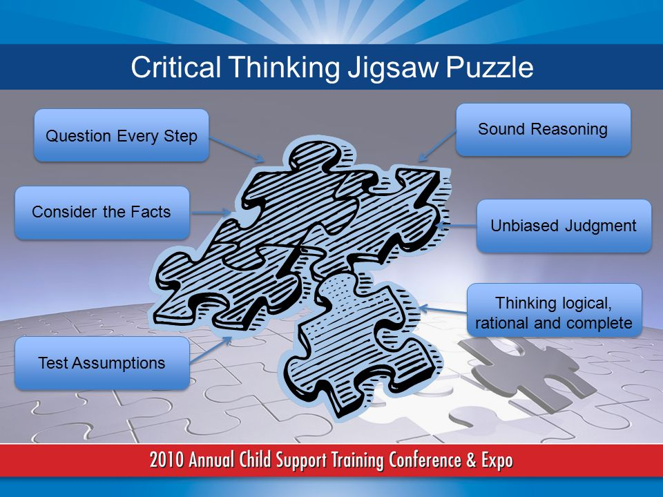 characteristics of critical thinking and logic Critical thinking is considered a higher order thinking skills, such as analysis, synthesis, and problem solving, inference, and evaluation the concept of higher order thinking skills became well known with the publication of bloom's taxonomy of educational objectives.