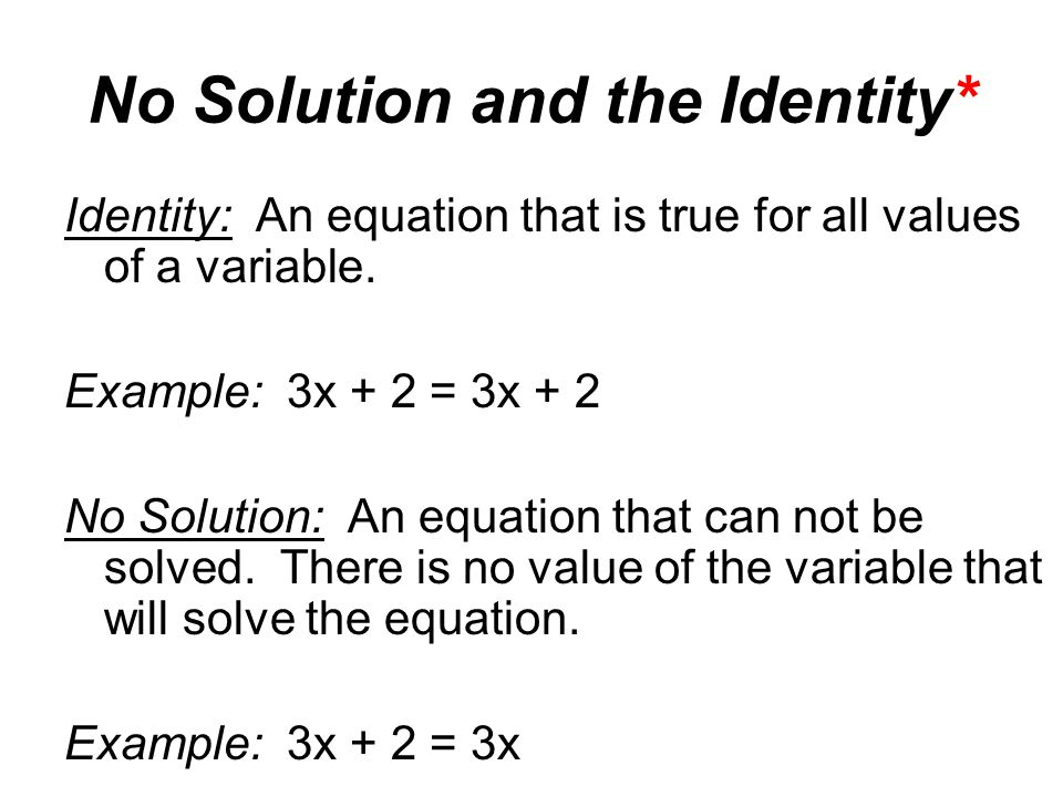 Drill 2 Solve The Following Equations Check Your Solutions 1 6x