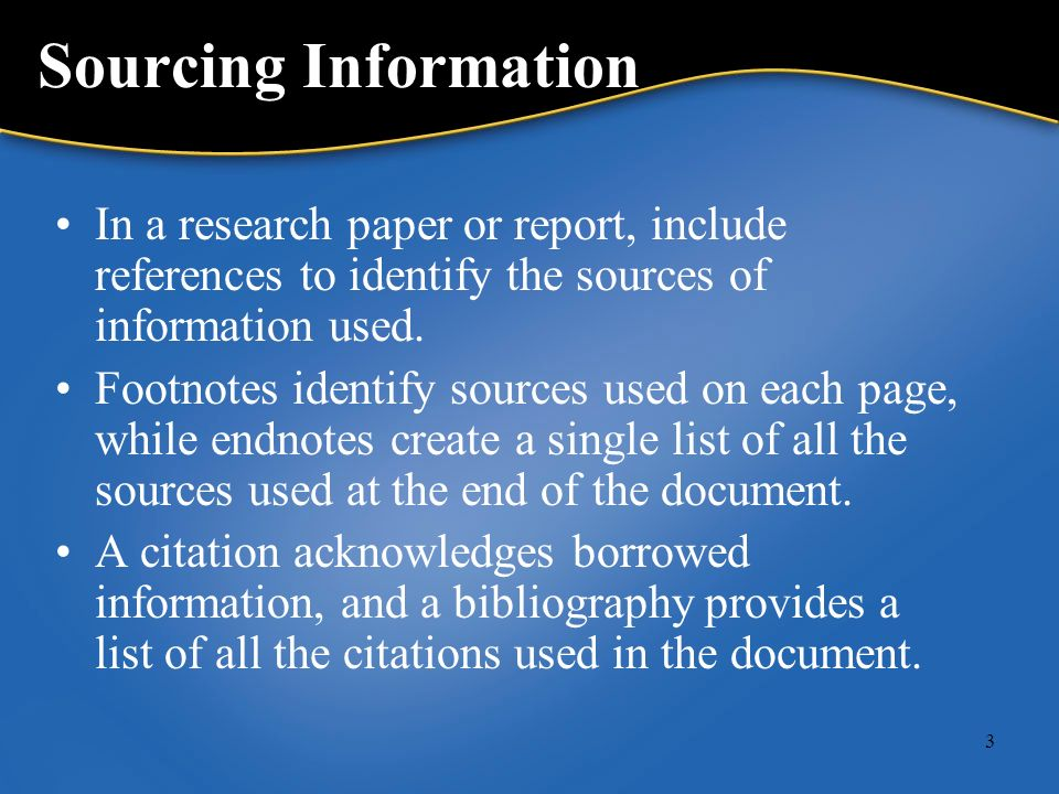 sourcing research paper The experts at elite editing show you where to find credible sources for your research paper finding credible sources online explained.