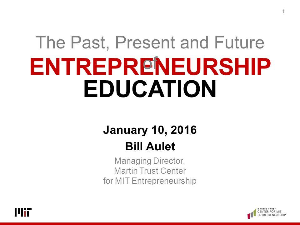 bill aulet disciplined entrepreneurship
