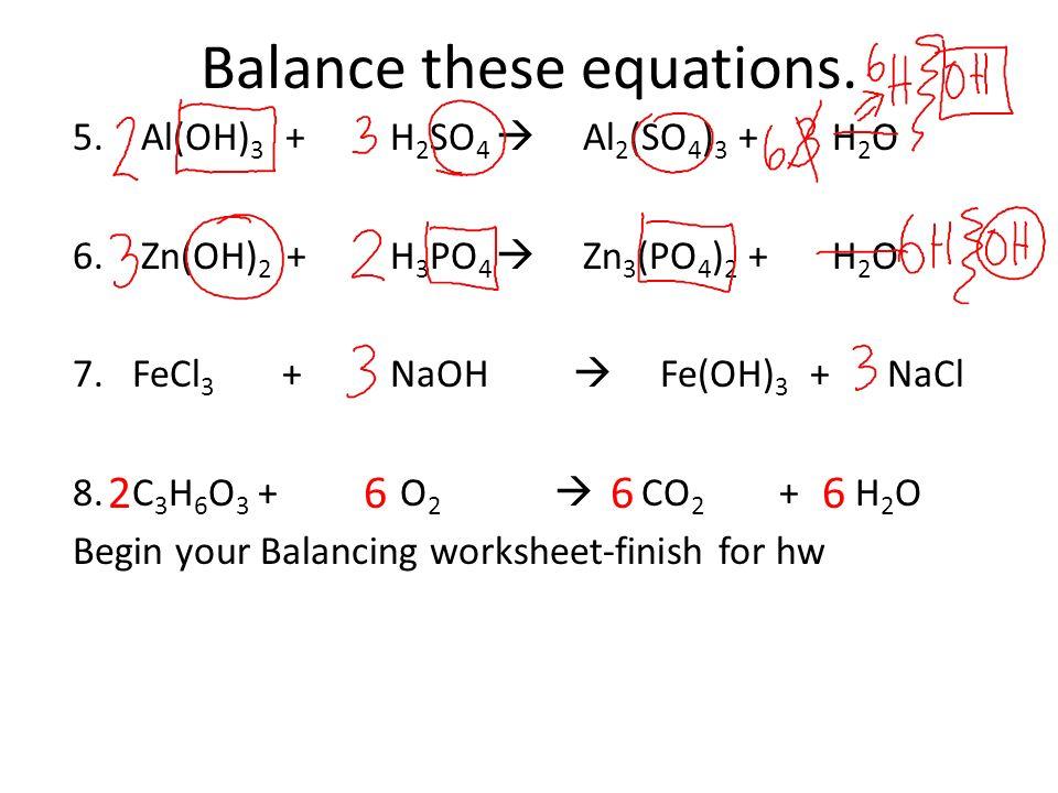 Balancing Equations Step 1 Write The Skeleton Equation Ppt Download