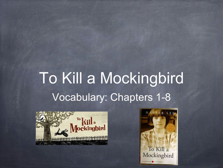 worksheet To Kill A Mockingbird Vocabulary Worksheet to kill a mockingbird vocabulary chapters 1 8 apothecary noun 8
