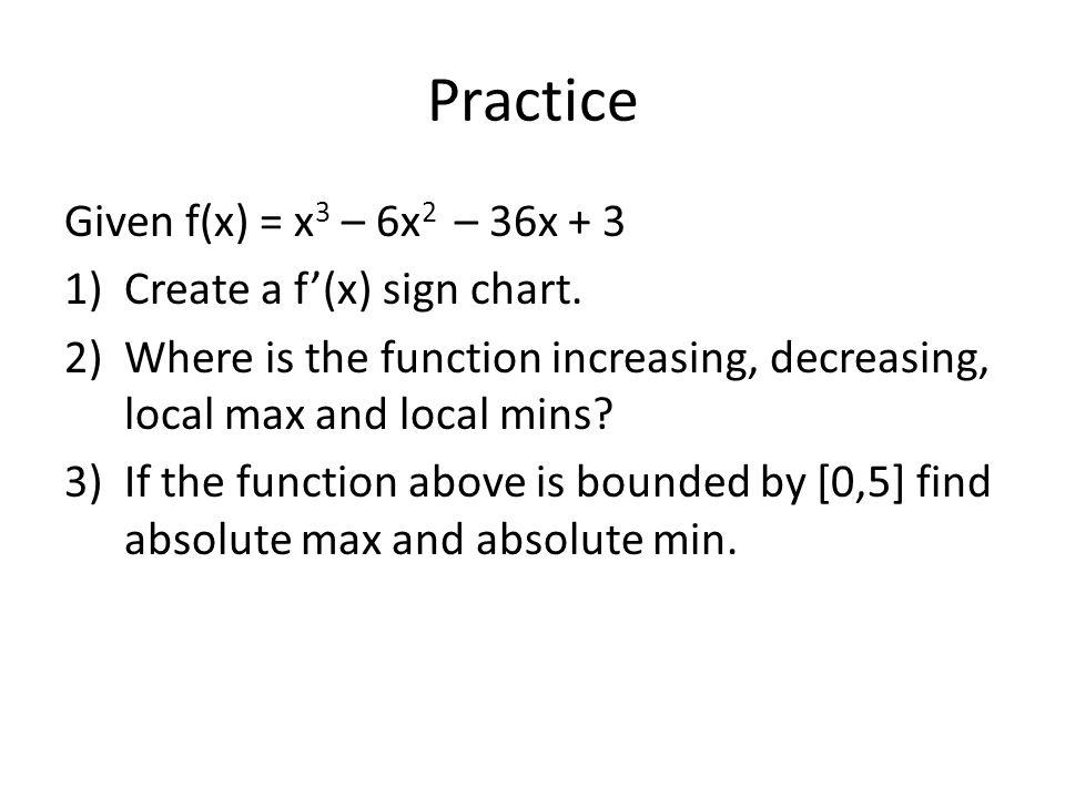 AP Calculus Unit 4 Day 5 Finish Concavity Mean Value Theorem Curve ...