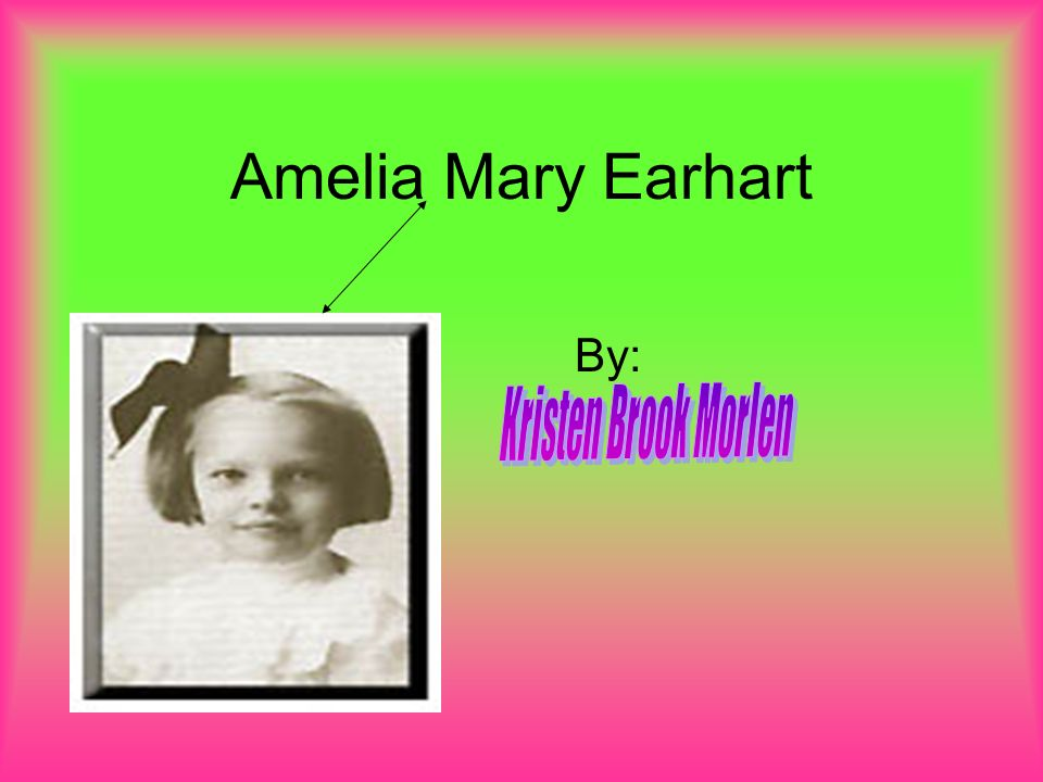 short essay about amelia earhart The perils of flying solo: instead susan ware has created a new portrait of the celebrated amelia earhart by is currently at work on a collection of essays.