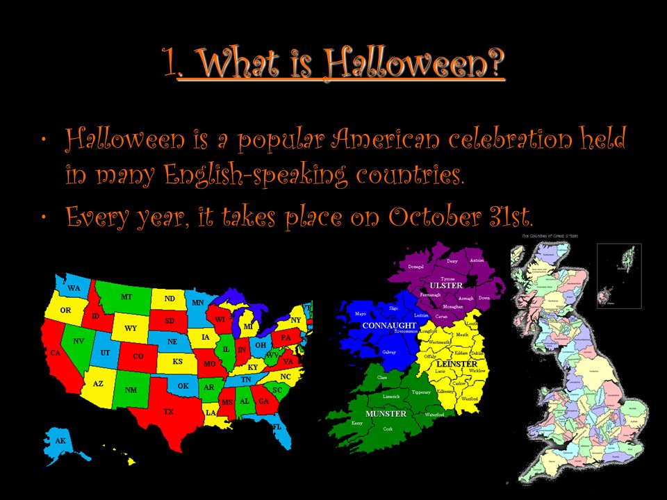 HALLOWEEN. Guideline: 1. What is Halloween? 5. Documentary 2 ...