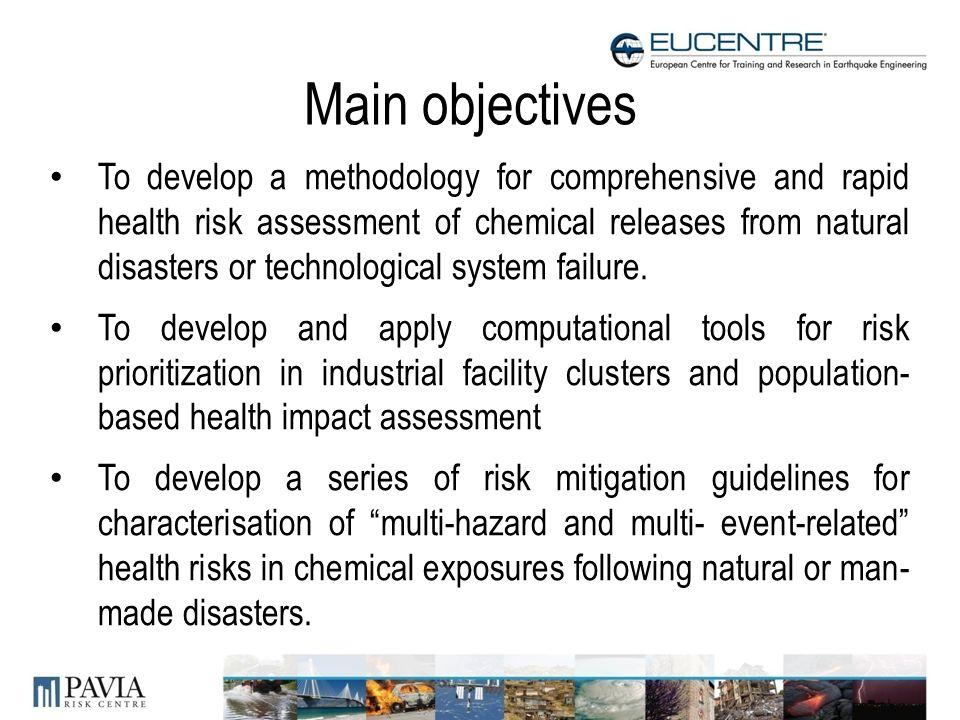 Post Emergency Multi Hazard Health Risk Assessment In Chemical