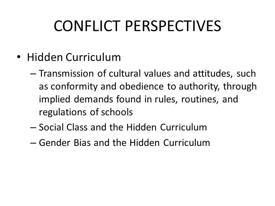 social class and hidden curriculum work The hidden curriculum is based on the work of autism researcher brenda smith curriculum or social skills instruction in class schedules or in the ieps of students.