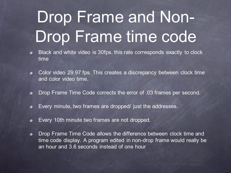 Groß Was Ist Timecode Drop Frame Fotos - Bilderrahmen Ideen - szurop ...