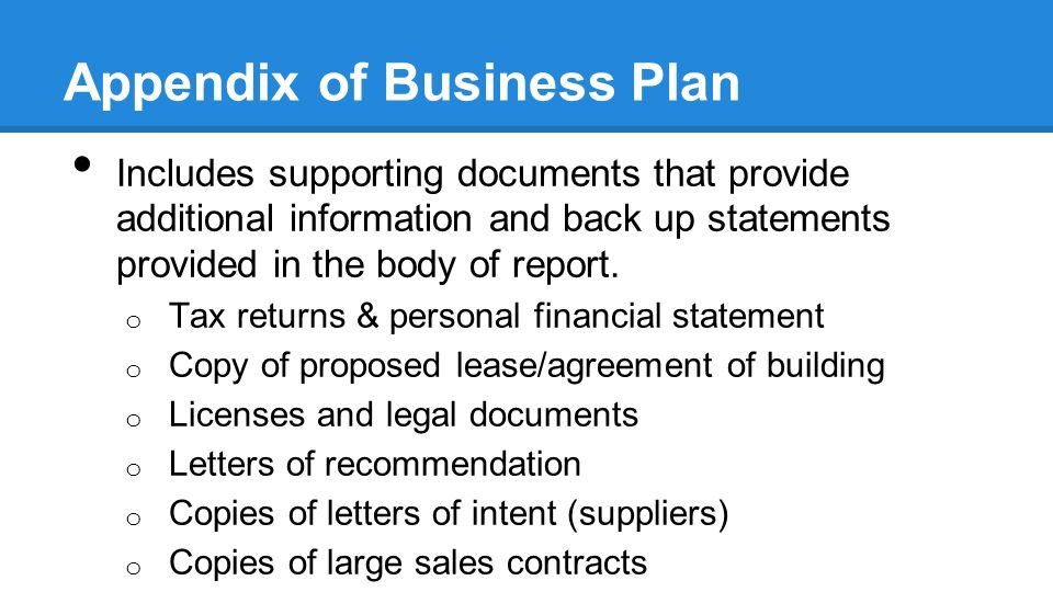 Help Creating A Business Plan