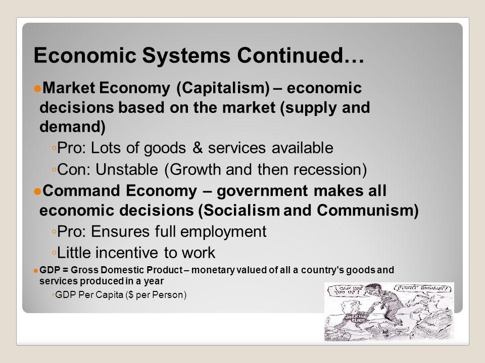 capitalism a grossly glorified economic system essay