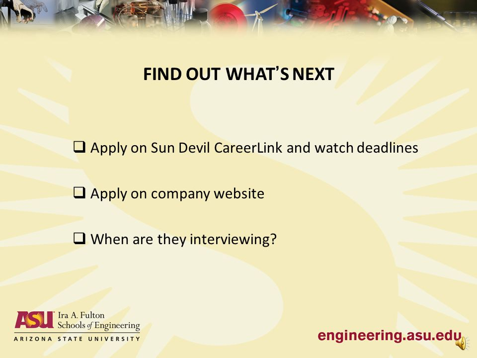 PREPARING FOR A JOB FAIR Joyce Donahue Career Development ...