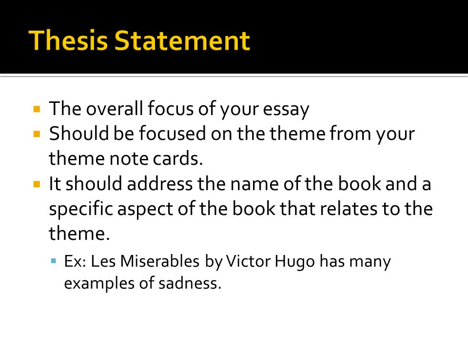 get ready for the most exciting minutes of your life ppt  the overall focus of your essay  should be focused on the theme from your